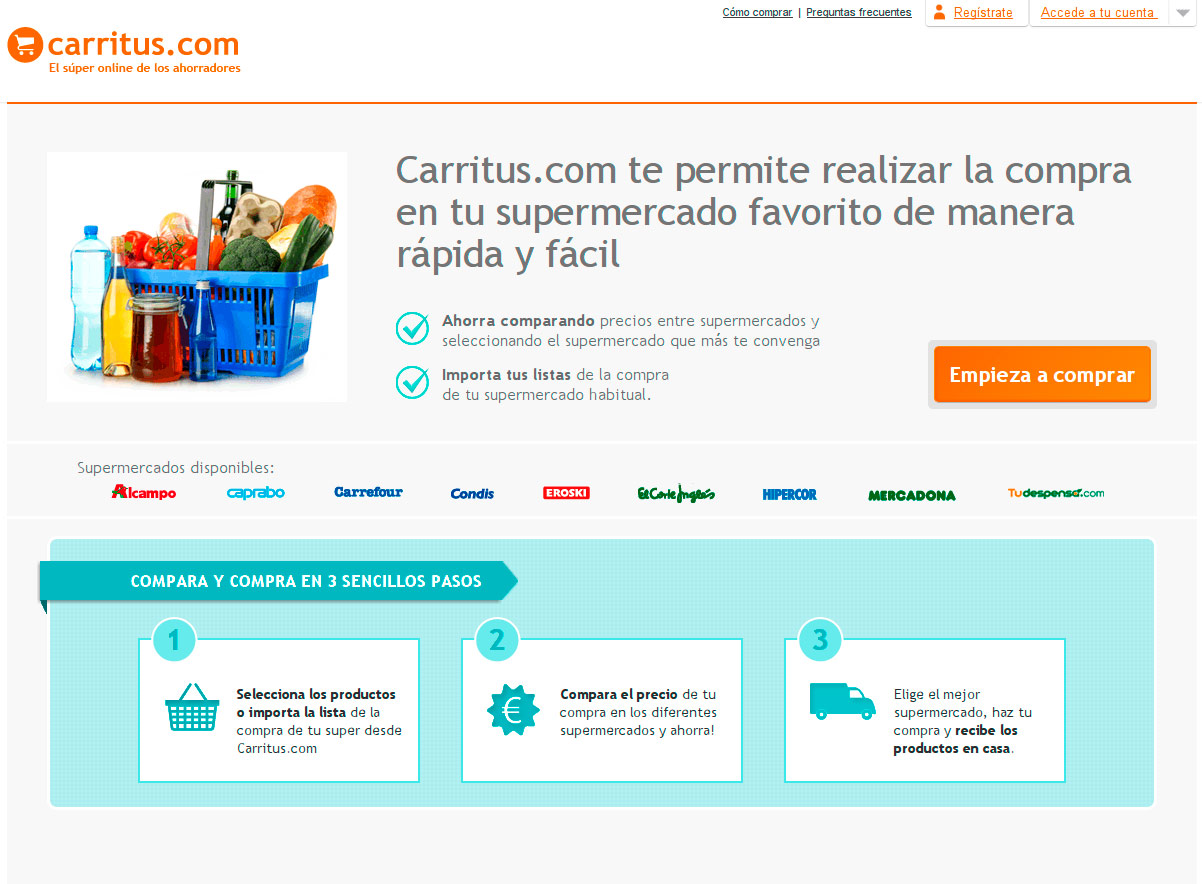 Carritus Web Page